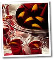 Ponche de frutas (Caliente)